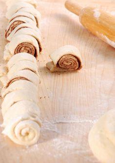 #Rezept #Nutella Schnecken