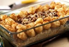Make an old-fashioned casserole with six layers of delicious flavor. Amish Six Layer Dinner is a simple casserole recipe that is easy to put together. This ground beef casserole has a long cooking time, but if you're home in the afternoon, it is a go