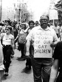 A tribute to my favorite part of every gay pride that always makes me cry: when the parents from PFLAG march with their kids. Thank you, Jeanne Manford. Your legacy will not be forgotten!