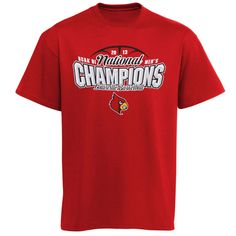 louisville cardinals 2013 basketball national championship inspired t shirt red 599 - Basketball T Shirt Design Ideas
