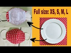 How to SEW a MEDICAL MASK   GUIDE   Make Your Own Simple Mask Easily - YouTube Small Sewing Projects, Sewing Hacks, Sewing Crafts, Easy Face Masks, Diy Face Mask, Make Your Own, Make It Yourself, How To Make, Parachute Cord Crafts