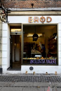 The neighbourhood the West End of Copenhagen - Vesterbro has got a new fantastic bakery called Brød.