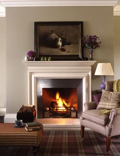 Interiors Fireplace by brent.darby, via Flickr
