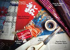 Cintas estampadas | DIY Pattern tape. Washi-decyng elementos