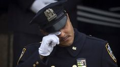 Wenjian Liu funeral: Police snub New York mayor again