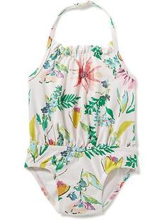 Floral Swimsuit for Baby | Old Navy