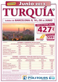 TURQUIA:Estambul y Capadocia salidas:9,16 y 30/06 desde Barcelona p.f. 599€ - http://zocotours.com/turquiaestambul-y-capadocia-salidas916-y-3006-desde-barcelona-p-f-599e/