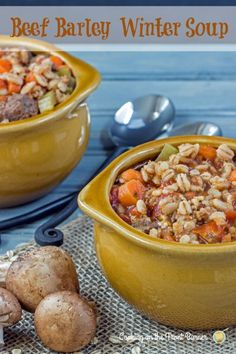 Cooking on the Front Burner: Beef Barley Winter Soup