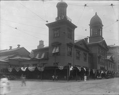 Camden Street StationBaltimore, Marylandca. 1905Unidentified photographer8x10 inch glass negativeBO CollectionBaltimore City Life Museum CollectionMaryland Historical SocietyMC4754(Sorry this post is so late.) Happy Opening Day! And Happy 20th Anniversary to Oriole Park at Camden Yards! Does this building look familiar? Its now where Sports Legends at Camden Yards is located, operated by the Babe Ruth Birthplace  Museum.