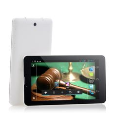 Justice - 7 Inch Dual Core 3G Android Tablet (Dual SIM, 1GHz Dual Core, 1024x600)