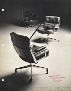 """""""1961: Eames Time Life Chairs"""" on Designspiration http://www.instoreshop.be/"""