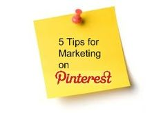 I wrote this one! 5 Pinterest marketing tips for small businesses.