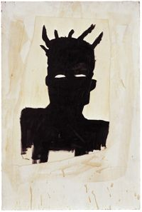 BASQUIAT  make a doll in his esthetic