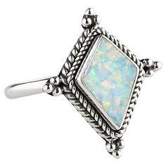 Medea Snow Opal Ring