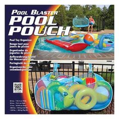 Water Tech Pool Blaster Pool Pouch >>> Details can be found by clicking on the image. Pool Toy Organization, Pool Toy Storage, Pool Float Storage, Stock Pools, Swimming Pool Accessories, Pool Hacks, My Pool, Pool Fun, Backyard Pool Designs