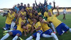 Brazil U21 selfie