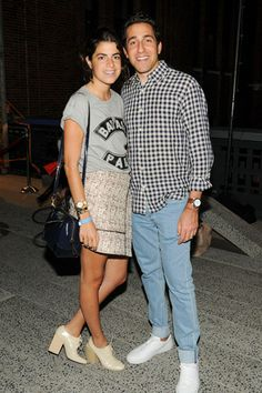 Leandra Medine and Abie Cohen.