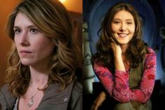 jewel staite as Amy Pond on Supernatural. How happy am I?