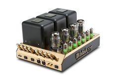 50th Anniversary Limited Edition McIntosh MC275 tube power amplifier.