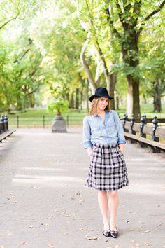 everyday skirt sewing pattern, from Oliver + S