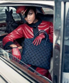 Black Model Featured In New Louis Vuitton Ad Campaign | Yin & Yang - The Blog
