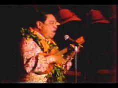 """The incredible Sol K. Bright Sr. performing his famous song """"Hawaiian Cowboy""""."""