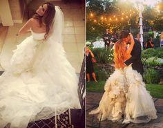 Jessie James marries Eric Decker....beautiful!