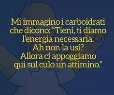 Vi adoro lo stesso cari carboidrati! Smile Quotes, Funny Quotes, Verona, Child Smile, Just Smile, Have Fun, Told You So, Positivity, Motivation