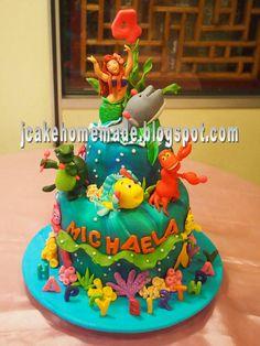 princess ariel | Princess Ariel birthday cake