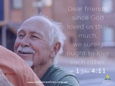 1 John 4:11 #love #friends #eachother #God #verseoftheday #bible #scripture #truth #lifelesson