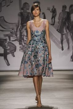 Lela Rose Ready To Wear Spring Summer 2015 New York - NOWFASHION