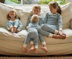 Buy your family new pyjamas to open on christmas eve. That way you can get all cosy together whilst looking picture perfect in your christmas day pics