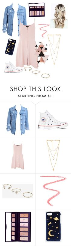 """""""Untitled #23"""" by dayna-eichenser on Polyvore featuring Converse, Topshop, Rebecca Minkoff, By Terry and CHARLES & KEITH"""