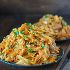 Cabbage Sauteed with Chicken - COOKTORIA.COM