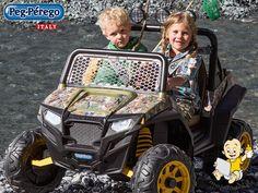 Dvosjed na akumulator 12V Peg Perego Polaris RZR 900, prava zabava za djecu.