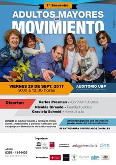 "Argentina:Evento ""Adultos mayores en movimiento"" 