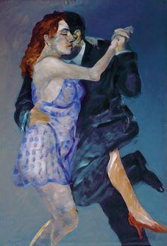 Carlos Alonso Shall We Dance, Lets Dance, Flower Lyrics, Diego Ojeda, American Realism, South American Art, Acevedo, Grafiti, Art Impressions