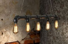 MY-FURNITURE Didier lampada lampadario da soffitto vintage industriale stile steampunk My-Furniture http://www.amazon.it/dp/B00SNM3XM4/ref=cm_sw_r_pi_dp_lNdcxb1F2191V
