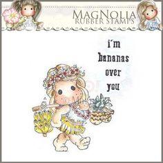 Magnolia Rubber Stamp - LD15 I'm Bananas Over You ***PRE-ORDER***