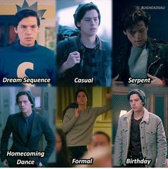 The many phases of Jughead Jones 🖤 Serpent Juggie is always my favorite 🐍 Riverdale Archie, Bughead Riverdale, Riverdale Funny, Riverdale Netflix, Archie Comics, Zack E Cold, Riverdale Quotes, Betty & Veronica, Riverdale Cole Sprouse