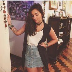 @lupi.rosa arrasou com nosso colete de alfaiataria no Natal! #bestseller #semprecoleteria #coleteria #colete #coletefeminino #coletepreto #coletesocial #maxicolete #natal #ootd #lookdodia www.coleteria.com.br