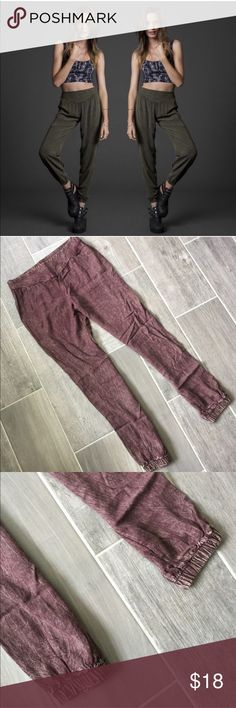 Rose Gold Heroine Harem Pant Staring at Stars Heroine Harem pant. You will never want to take these pants off. This listing is for the rose gold rust color. First picture is of same pants in different color. Urban Outfitters Pants Track Pants & Joggers