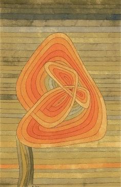 Lonely Flower, 1934 Watercolor, pen, and pencil on paper. Paul Klee