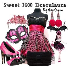 monster high inspired outfits | Sweet 1600 Draculaura - Polyvore