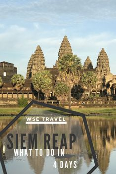 A trip that encompasses the best of Angkor Wat and the nearby off the beaten path lake, Tonle Sap. Visit Siem Reap the way it was meant to be visited! Asia Travel, Solo Travel, Travel Packing, Packing Lists, Cambodia Beaches, Cambodia Travel, Tonle Sap, Single Travel, Exotic Beaches
