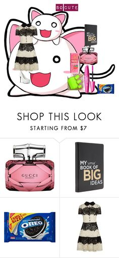 """so cute"" by melissa-van-delft ❤ liked on Polyvore featuring Gucci and RED Valentino"