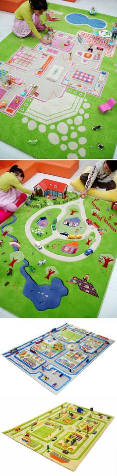 Bubba bling rug-kids-interactive. They have one with a farm, too!
