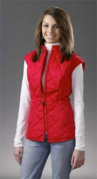 DIY: Sew a Warm Quilted Vest! Make it in cord, add a fleecy lined hood and some Hand warmer pockets