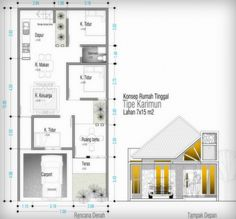 Contoh Rab Rumah Tipe 120 House Idea In 2018 Pinterest Design