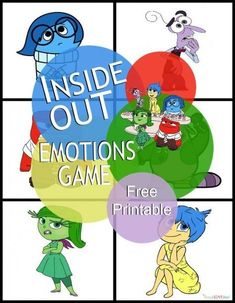 Inside Out Emotions Game ad InsideOutMovieNight CollectiveBias Emotions Game, Emotions Activities, Counseling Activities, Work Activities, Feelings And Emotions, Feelings Games, Teaching Emotions, Feelings Chart, Elementary School Counseling